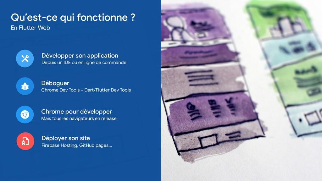 Développer son application  Depuis un IDE ou en...