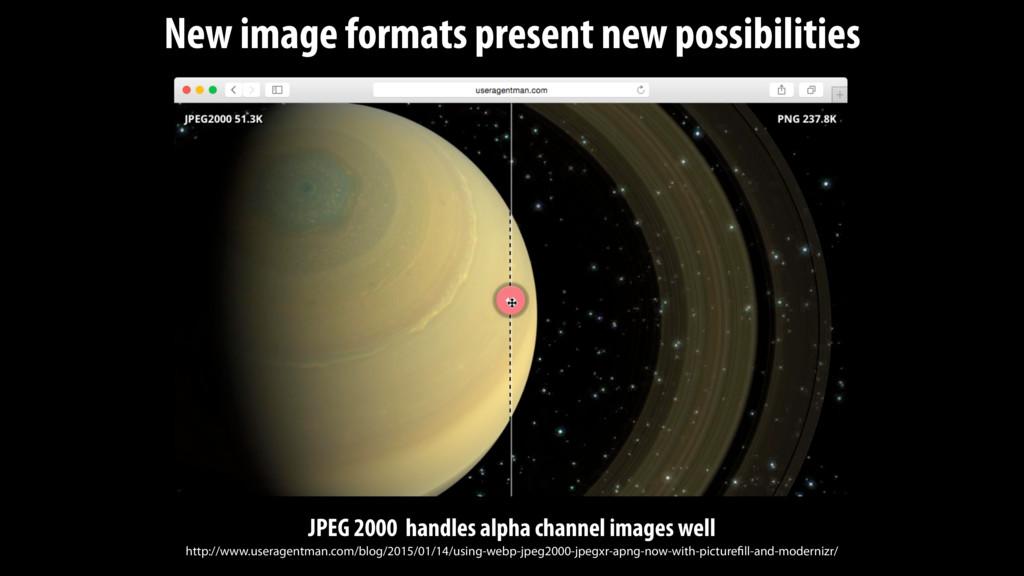New image formats present new possibilities JPE...