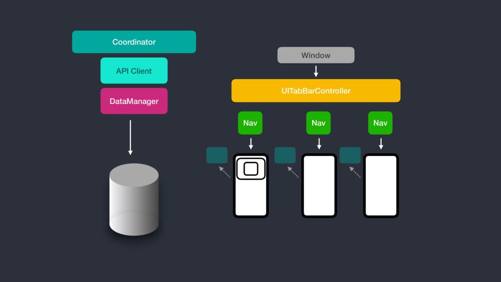 UITabBarController DataManager API Client Nav N...
