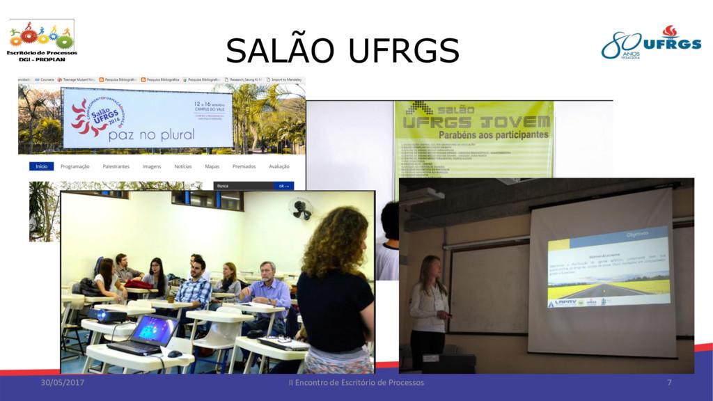 SALÃO UFRGS 30/05/2017 II Encontro de Escritóri...
