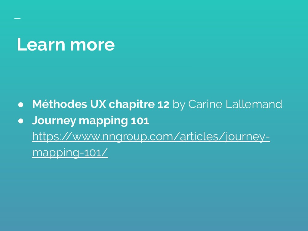 ● Méthodes UX chapitre 12 by Carine Lallemand ●...