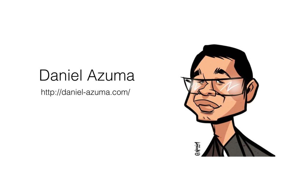Daniel Azuma http://daniel-azuma.com/