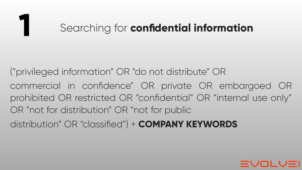 """(""""privileged information"""" OR """"do not distribute..."""