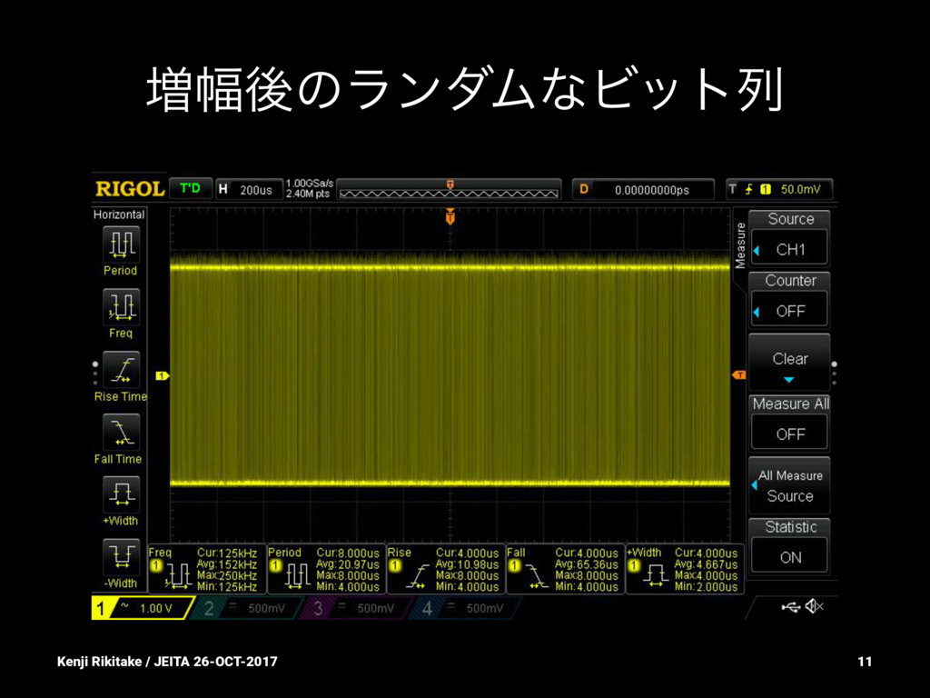 ૿෯ޙͷϥϯμϜͳϏοτྻ Kenji Rikitake / JEITA 26-OCT-201...