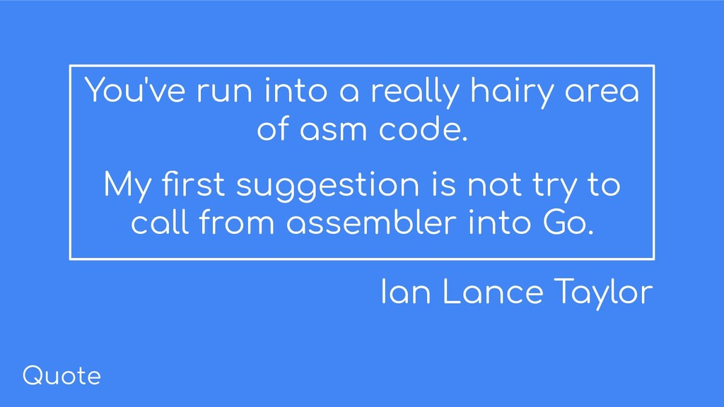 You've run into a really hairy area of asm code...