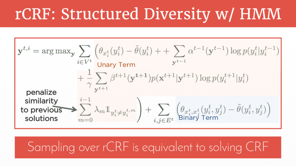 rCRF: Structured Diversity w/ HMM Sampling over...