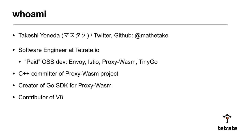 • Takeshi Yoneda (Ϛελέ) / Twitter, Github: @mat...