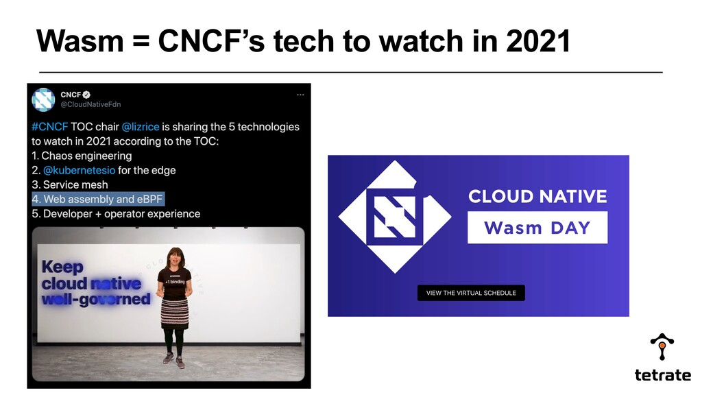 Wasm = CNCF's tech to watch in 2021