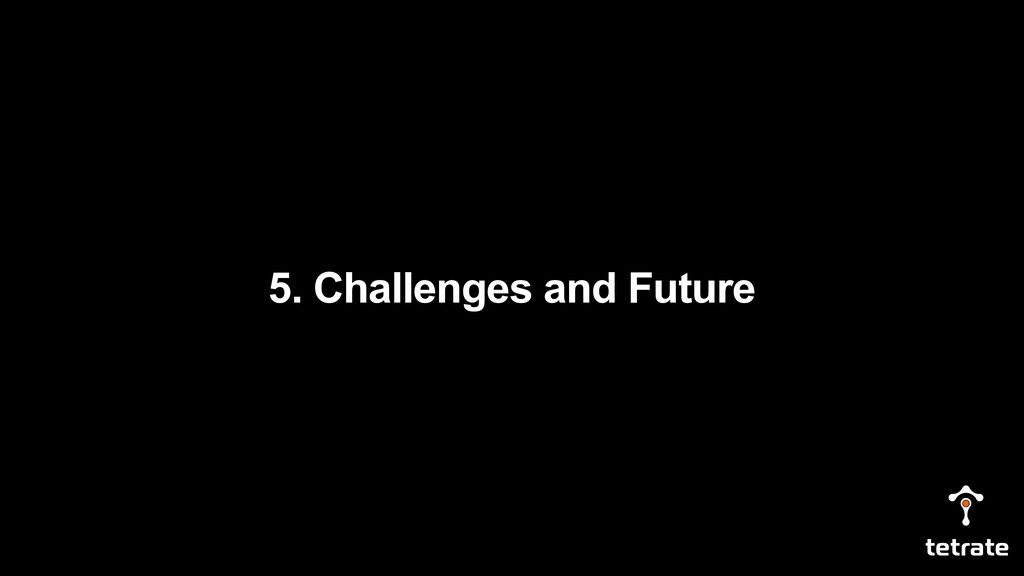 5. Challenges and Future