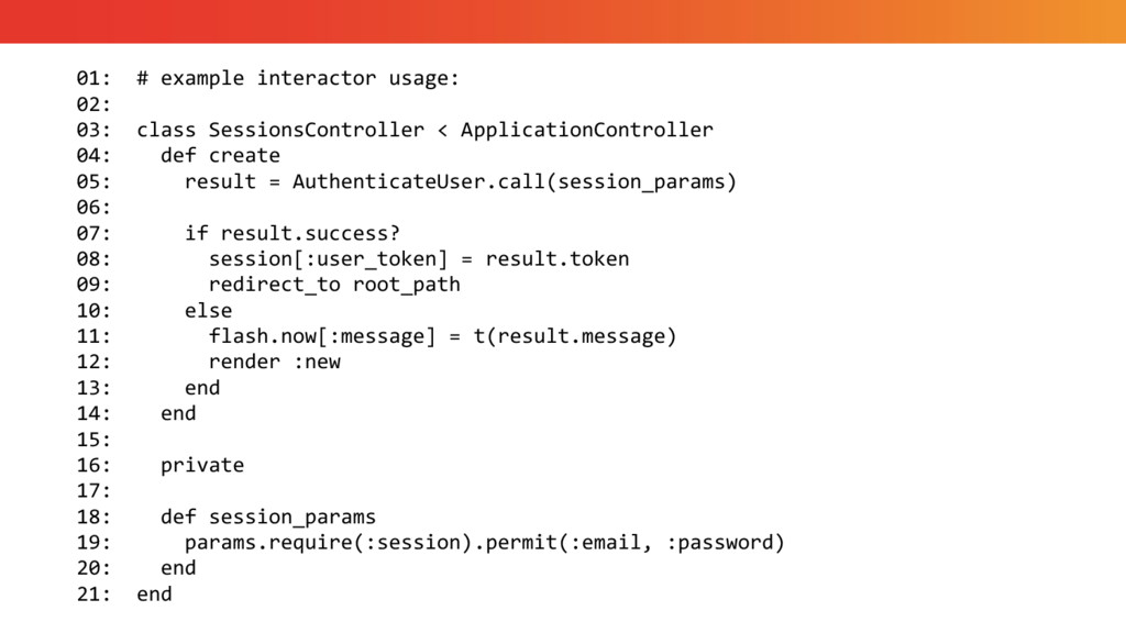 01: # example interactor usage: 02: 03: class S...