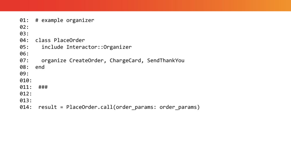 01: # example organizer 02: 03: 04: class Place...
