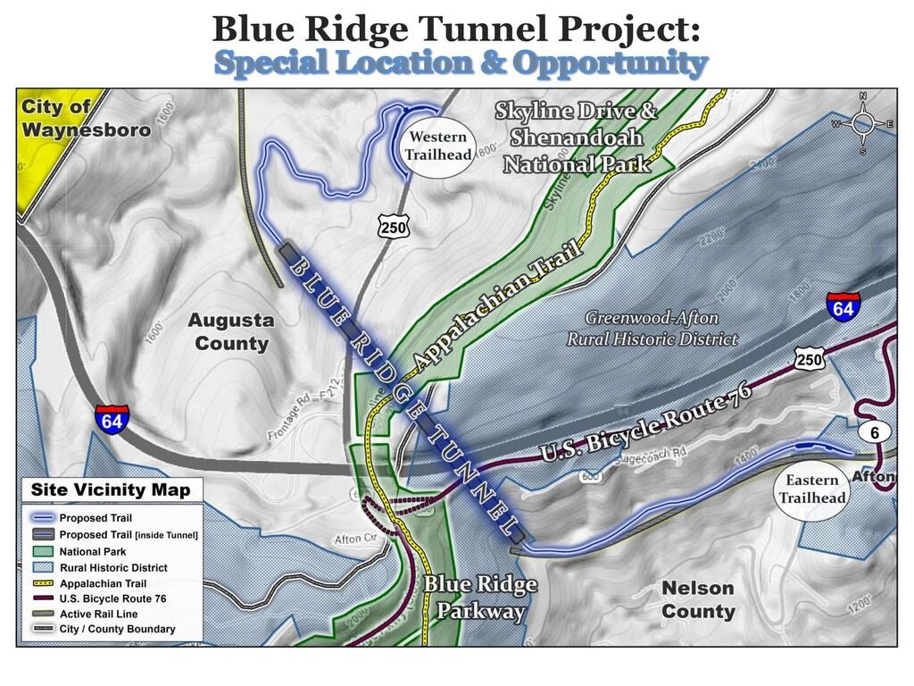 Blue Ridge Tunnel Project: