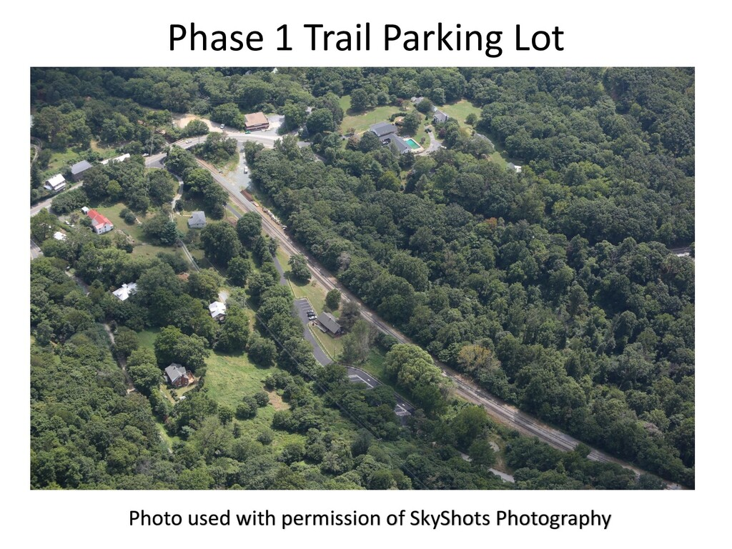 Phase 1 Trail Parking Lot Photo used with permi...