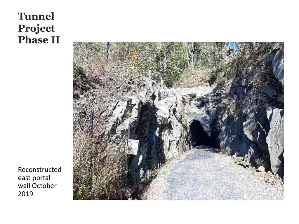 Tunnel Project Phase II Reconstructed east port...