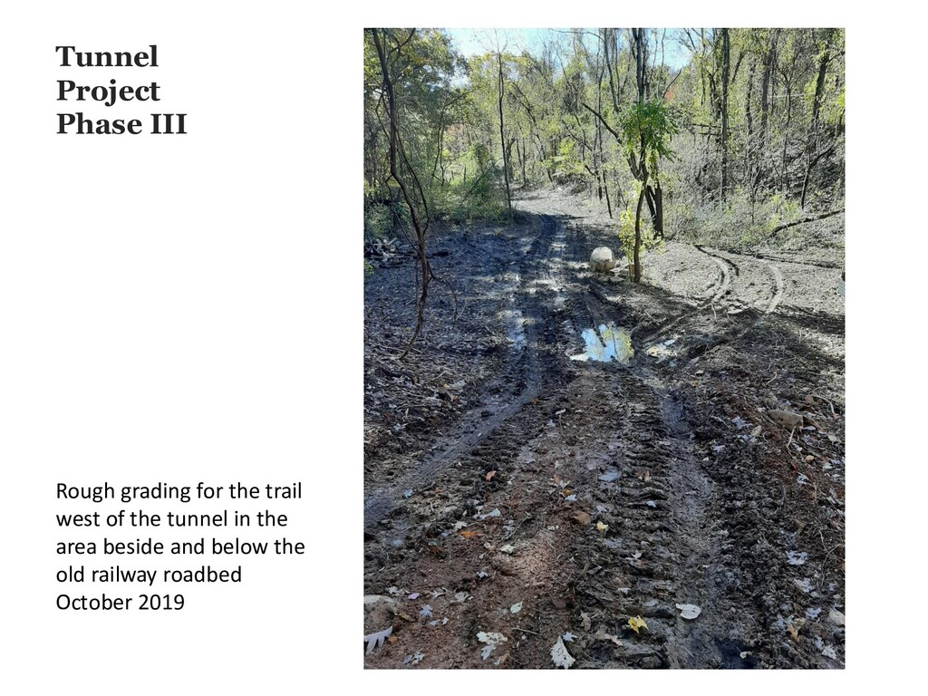 Tunnel Project Phase III Rough grading for the ...