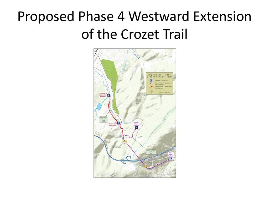 Proposed Phase 4 Westward Extension of the Croz...