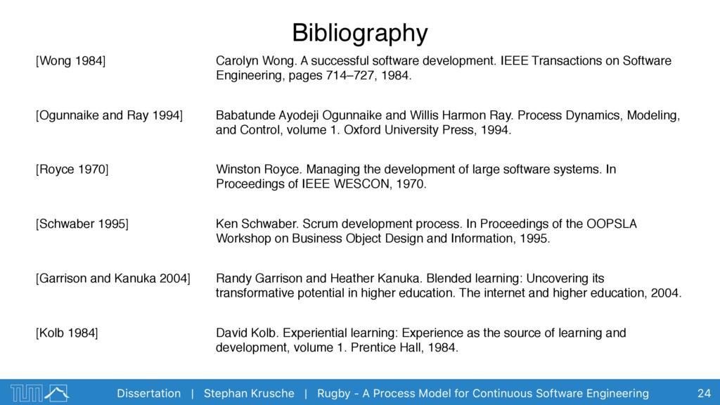 Dissertation | Stephan Krusche | Rugby - A Proc...