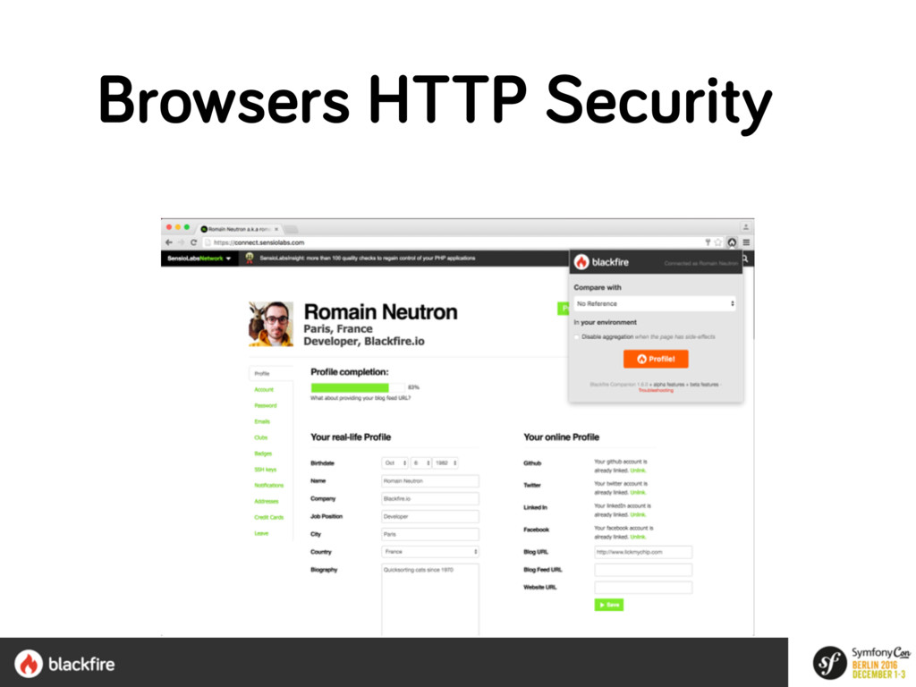 Browsers HTTP Security