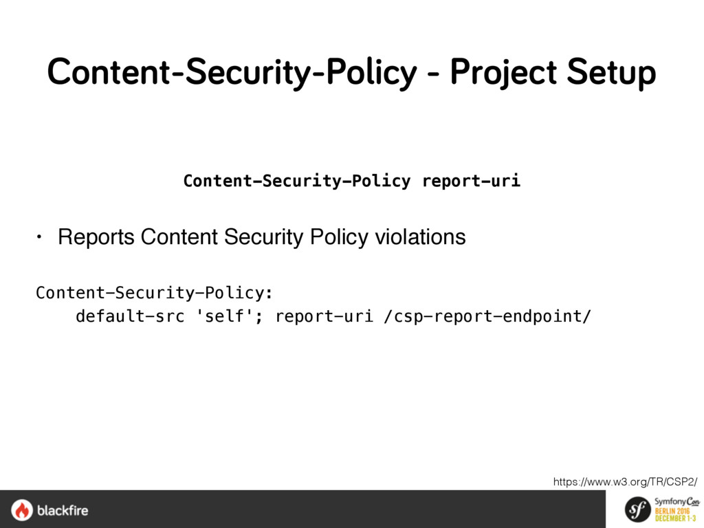 Content-Security-Policy report-uri • Reports Co...