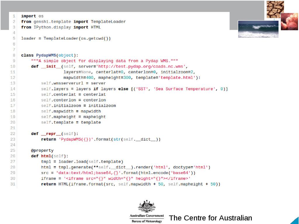 The Centre for Australian