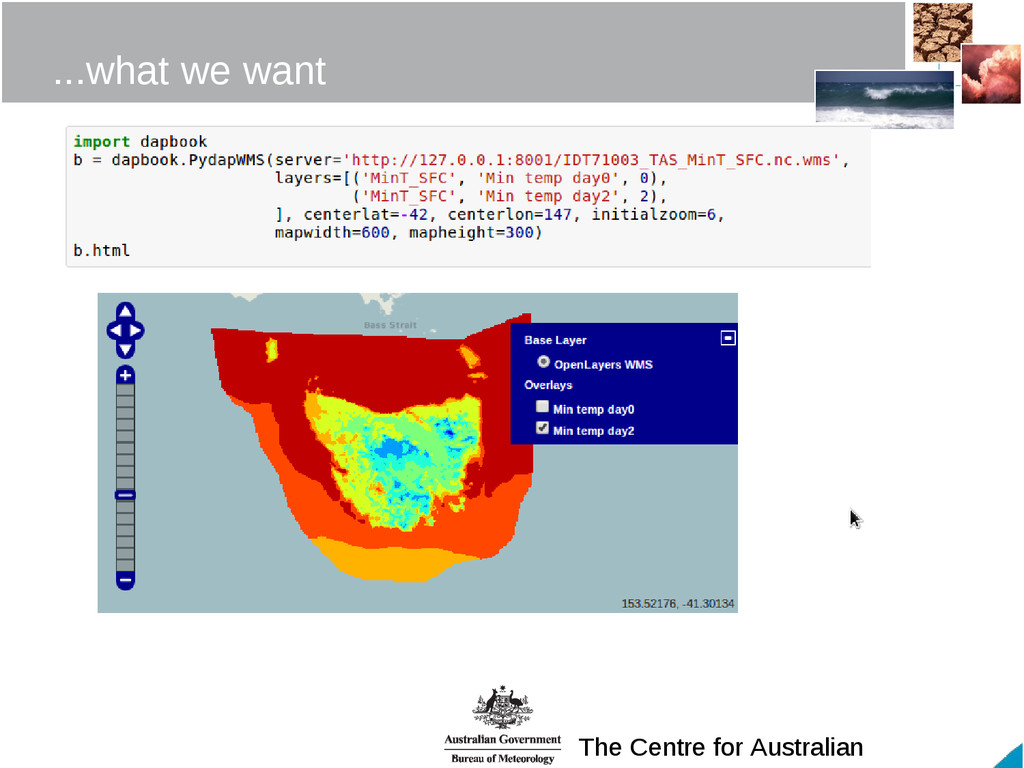 The Centre for Australian ...what we want