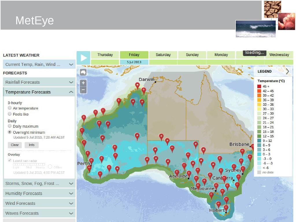 The Centre for Australian MetEye