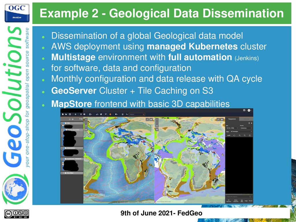 Example 2 - Geological Data Dissemination ⚫ Dis...