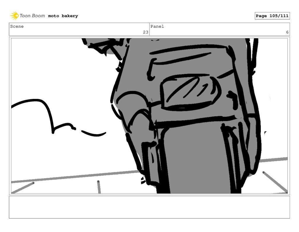Scene 23 Panel 6 moto bakery Page 105/111