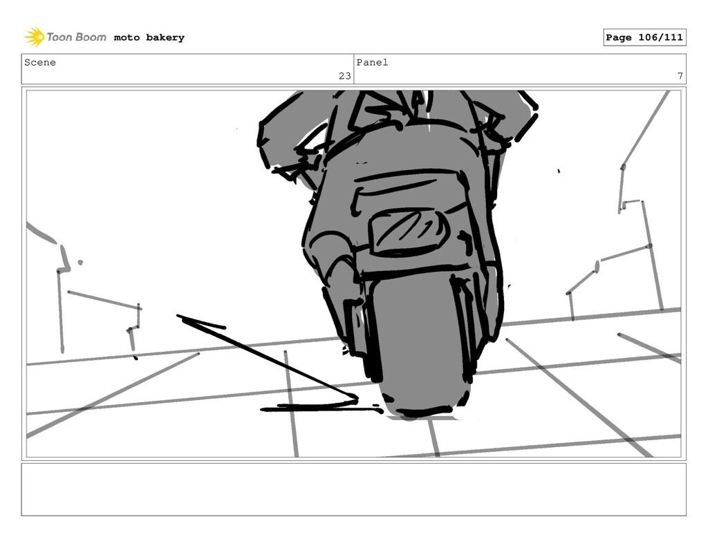 Scene 23 Panel 7 moto bakery Page 106/111