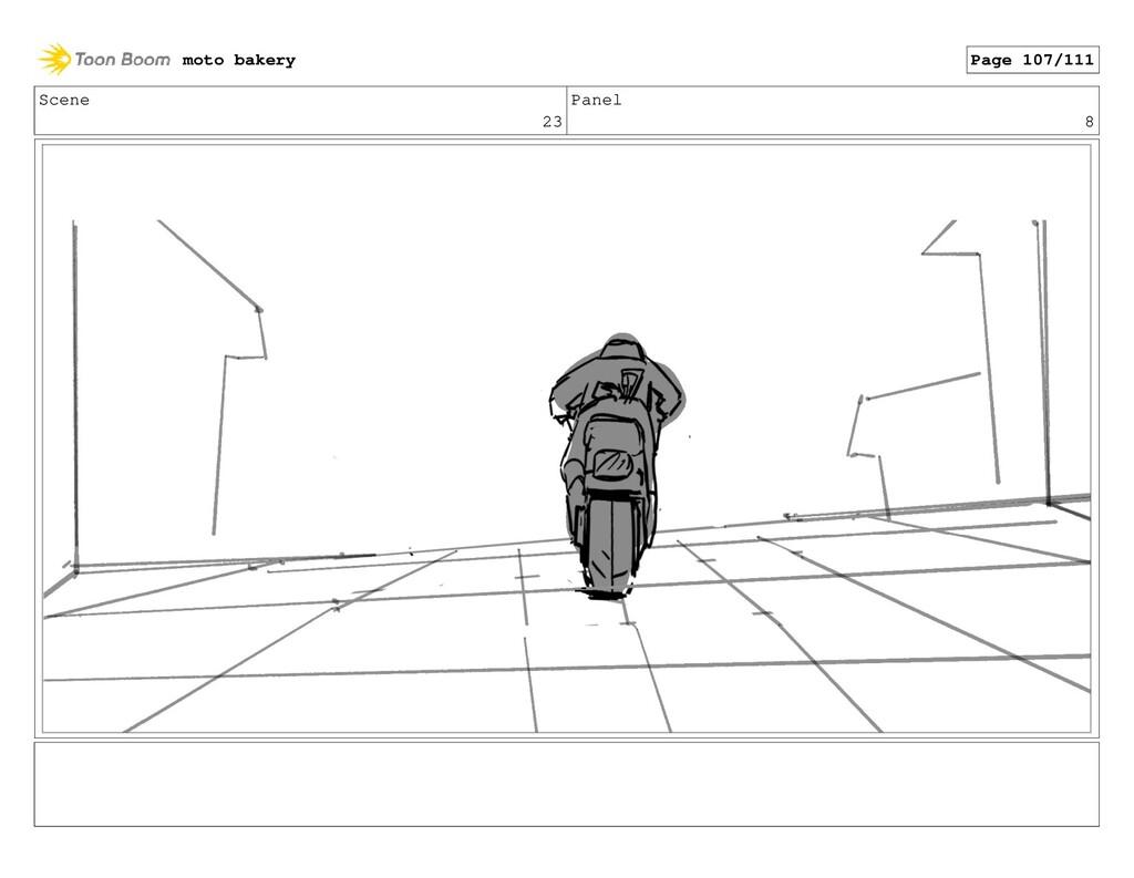 Scene 23 Panel 8 moto bakery Page 107/111