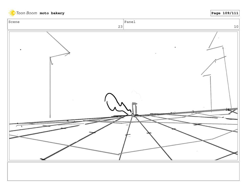 Scene 23 Panel 10 moto bakery Page 109/111