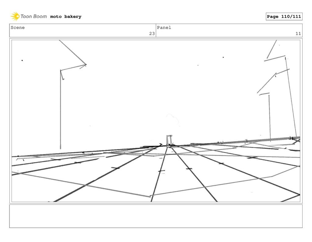 Scene 23 Panel 11 moto bakery Page 110/111