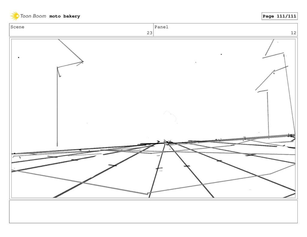 Scene 23 Panel 12 moto bakery Page 111/111