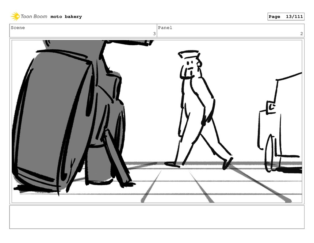 Scene 3 Panel 2 moto bakery Page 13/111
