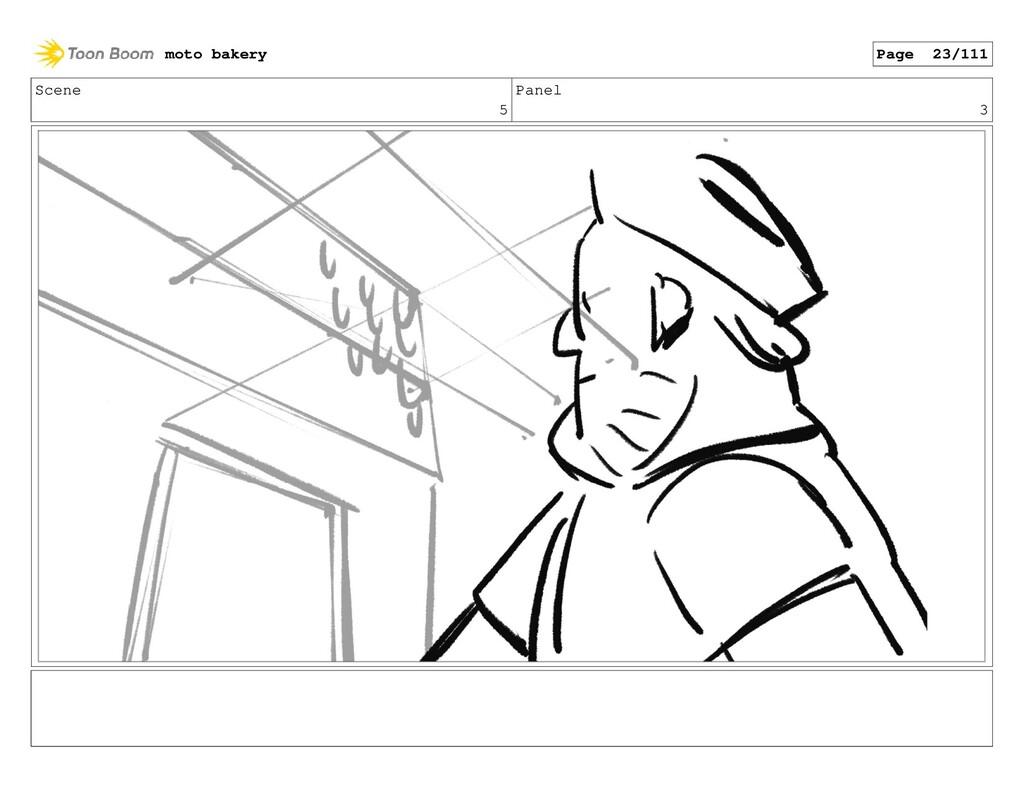 Scene 5 Panel 3 moto bakery Page 23/111