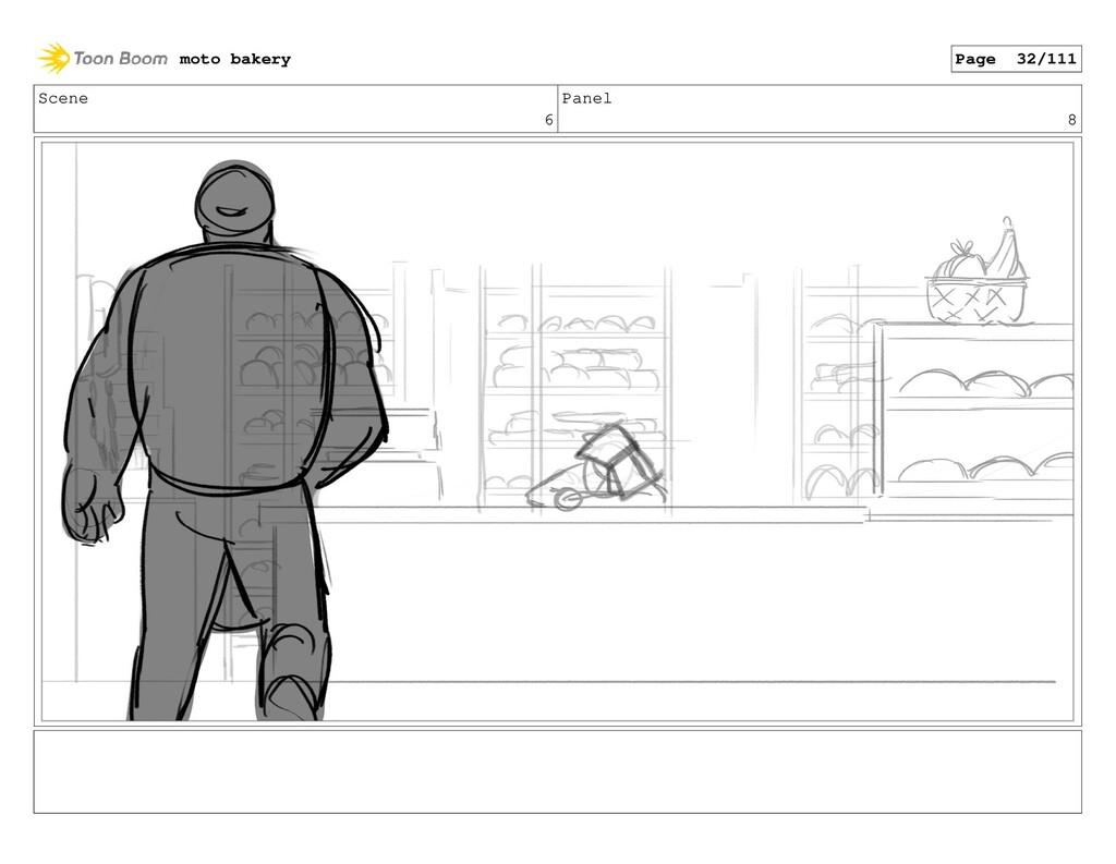 Scene 6 Panel 8 moto bakery Page 32/111