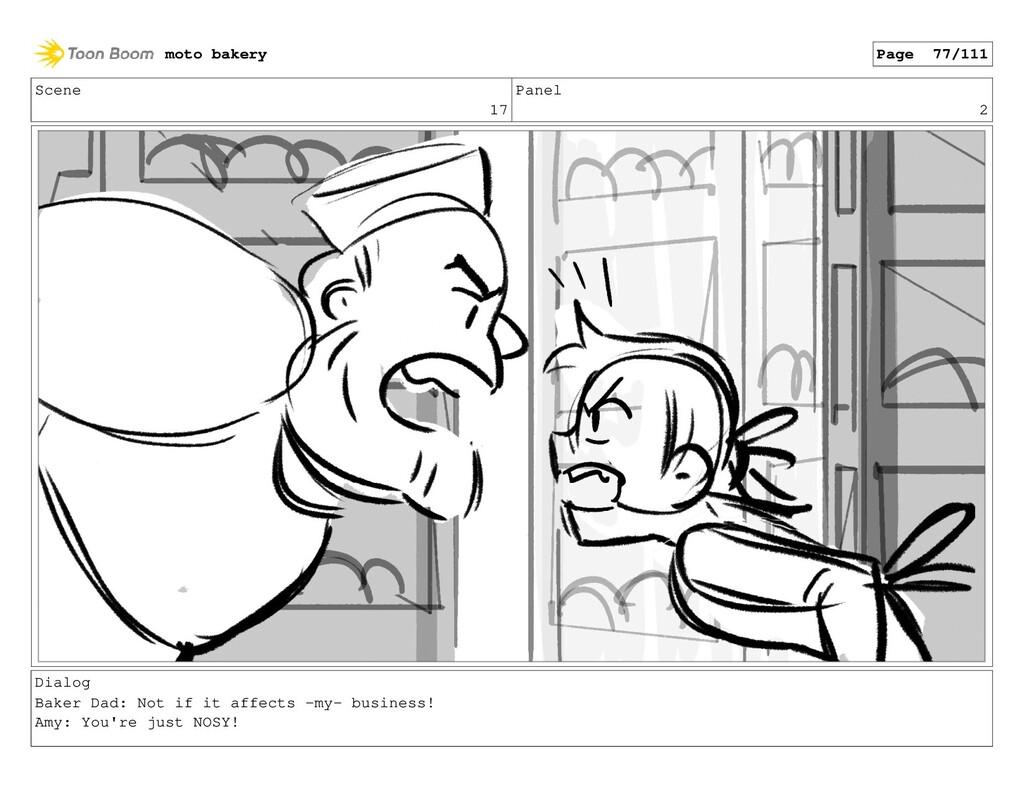 Scene 17 Panel 2 Dialog Baker Dad: Not if it af...