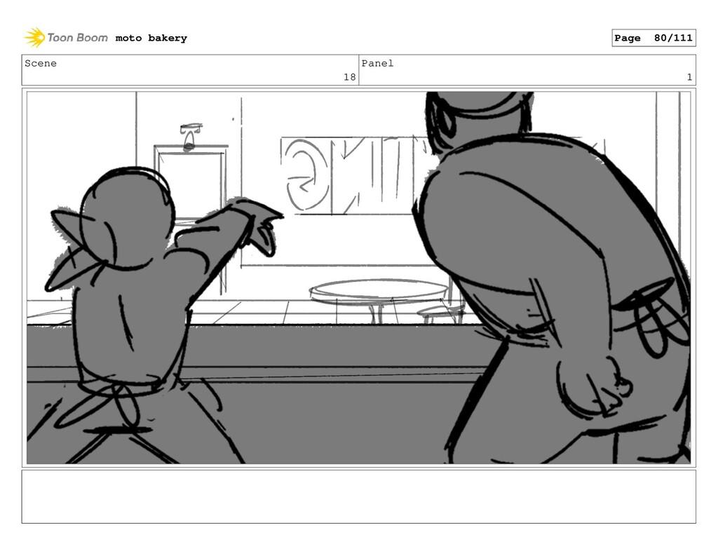Scene 18 Panel 1 moto bakery Page 80/111