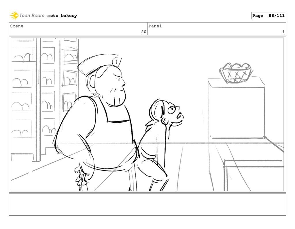 Scene 20 Panel 1 moto bakery Page 86/111