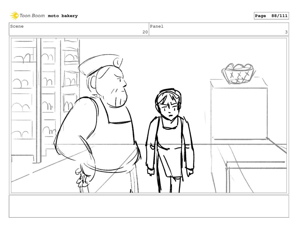 Scene 20 Panel 3 moto bakery Page 88/111