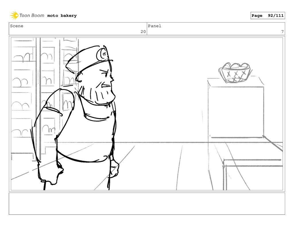 Scene 20 Panel 7 moto bakery Page 92/111