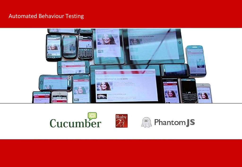 Automated Behaviour Testing
