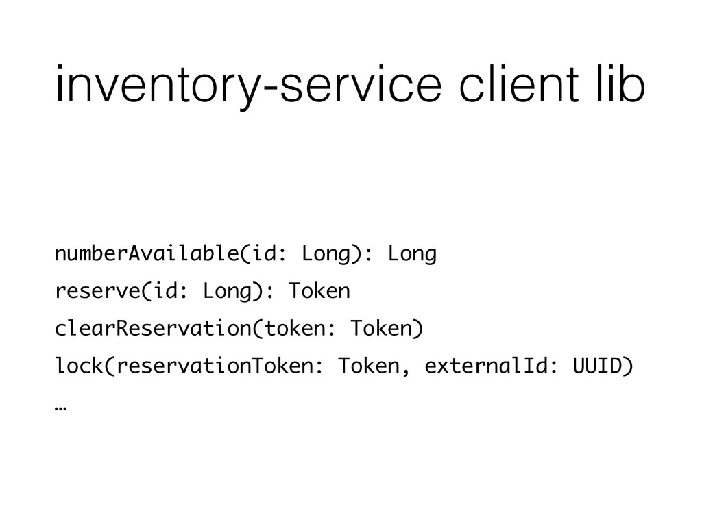 inventory-service client lib numberAvailable(id...