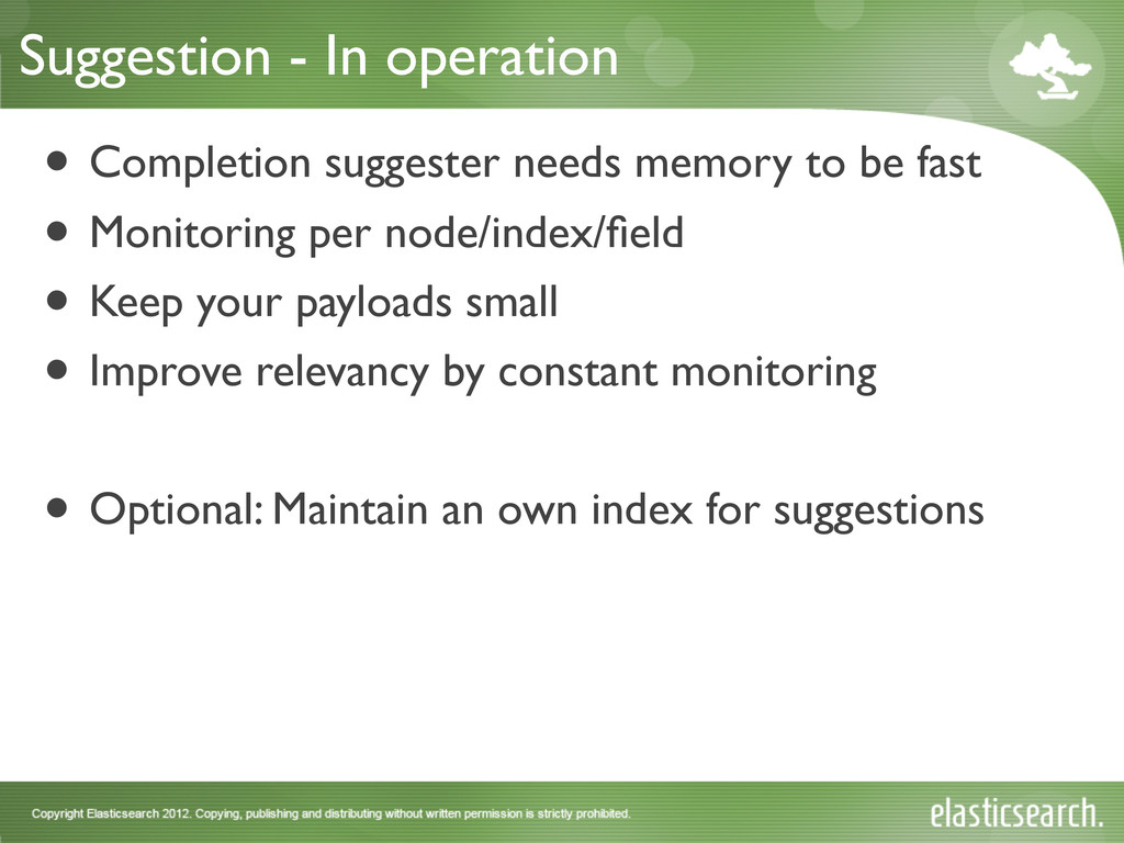 Suggestion - In operation • Completion suggeste...