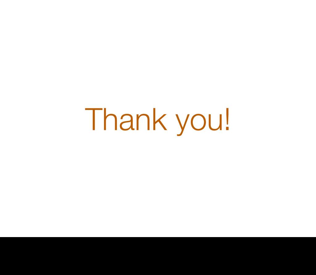 Thank you! 41 Thursday, 1 September 16