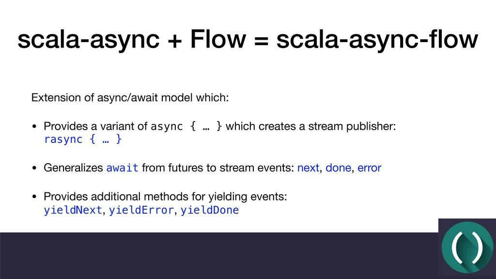 scala-async + Flow = scala-async-flow Extension ...