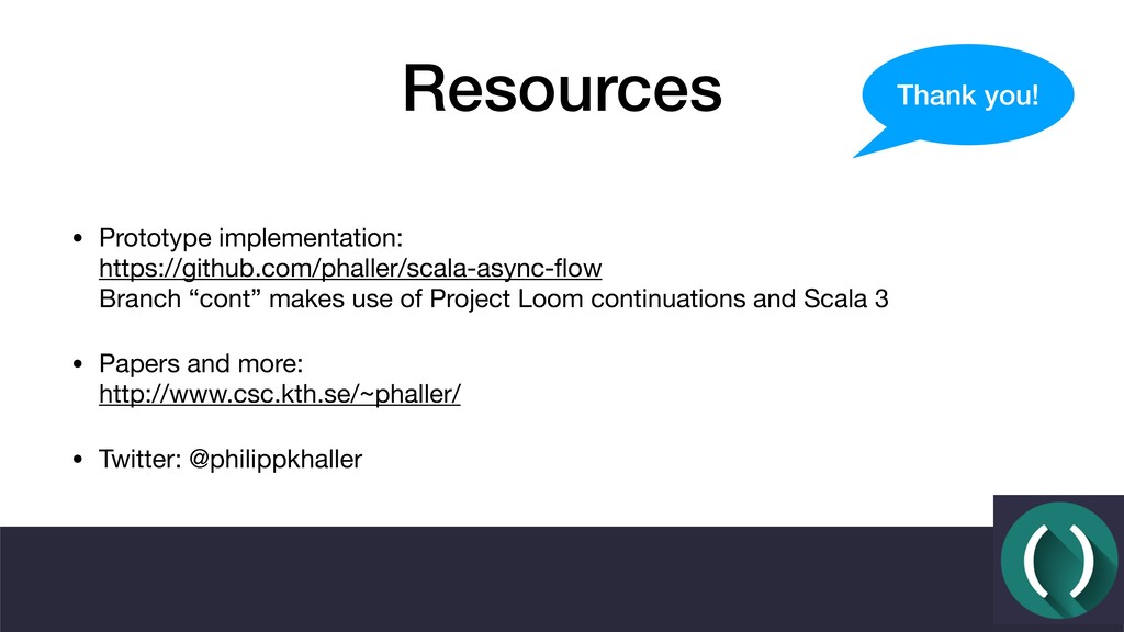 Resources • Prototype implementation: https://...