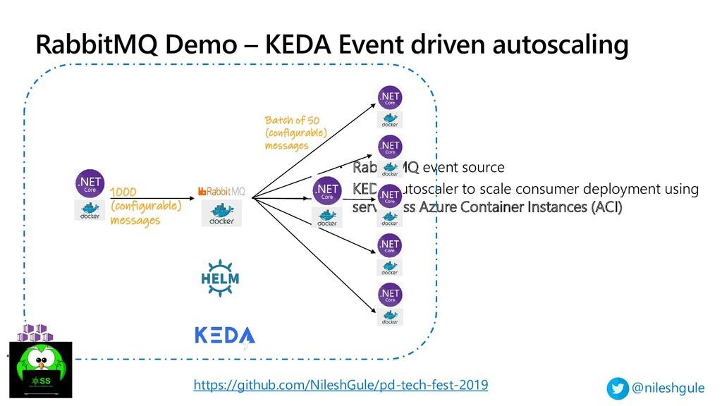 @nileshgule RabbitMQ Demo – KEDA Event driven a...