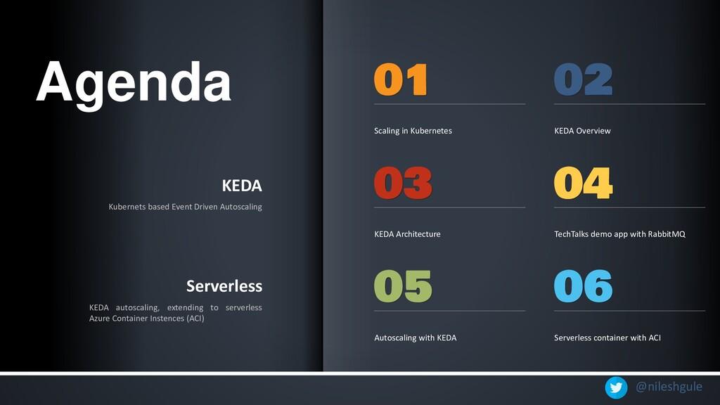 @nileshgule KEDA Kubernets based Event Driven A...