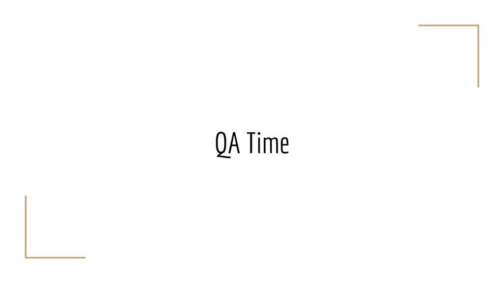 QA Time